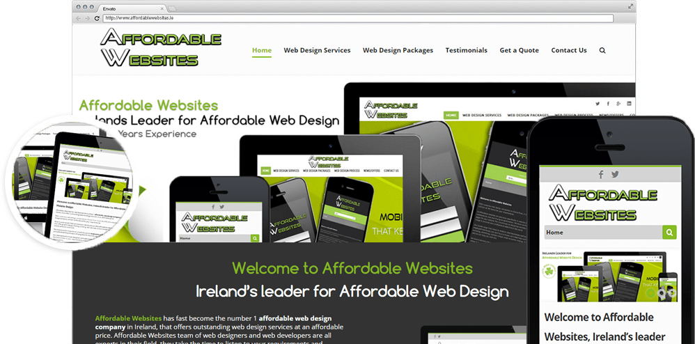 Website Designer Dublin Affordable Websites