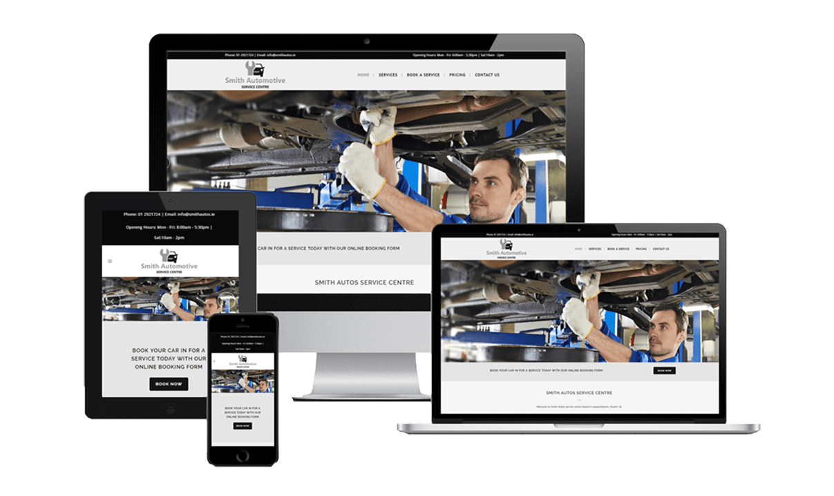 Smith Autos Website by Affordable Websites
