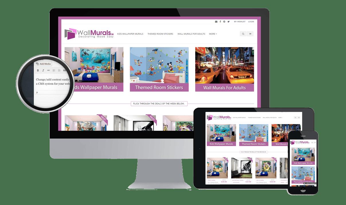 Ecommerce Website Design by www.affordablewebsites.ie