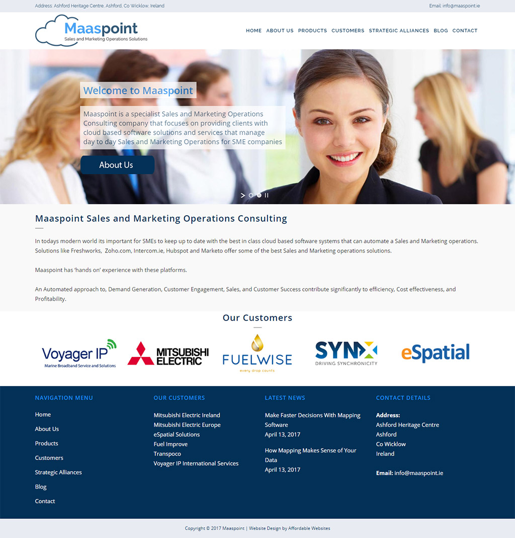 Maaspoint Website