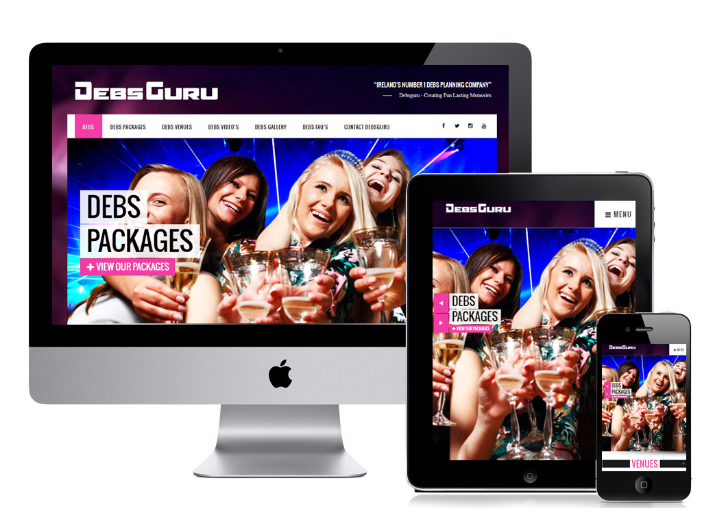 Mobile Friendly Website design Dublin by www.affordablewebsites.ie