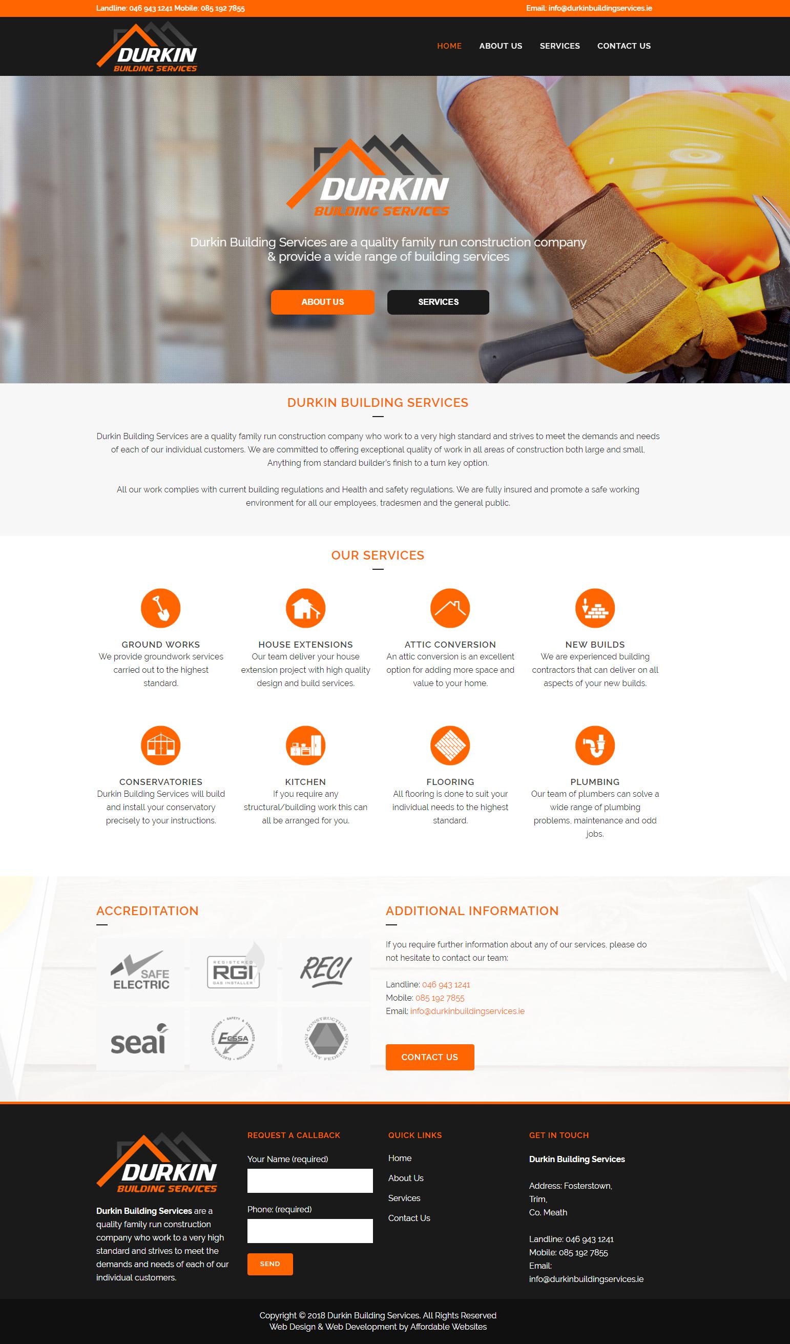 Builders-Website-Designer