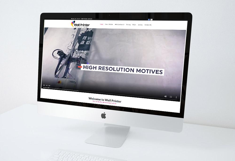 Wallprinter Website