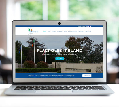 Website Design Flagpoles Ireland