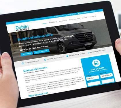 Dublin Minibus Hire Website