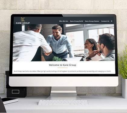 Kane Group Website Design