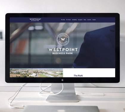Website design for Westpoint Business Park